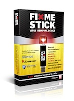 The FixMeStick is the first virus removal device to work on Windows 8.