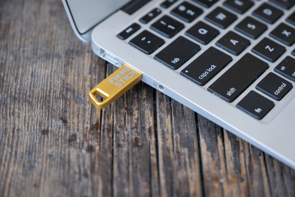 With an external virus removal device like the FixMeStick you can remove even the most deeply rooted malware.