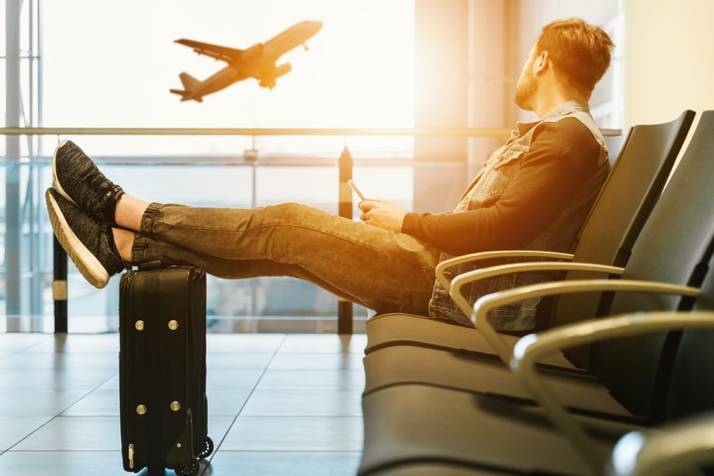 Public WiFi at airports and hotels is not the most secure. A VPN will keep your online browsing and location private while you use public internet connections. This means that hackers can't see your private information!